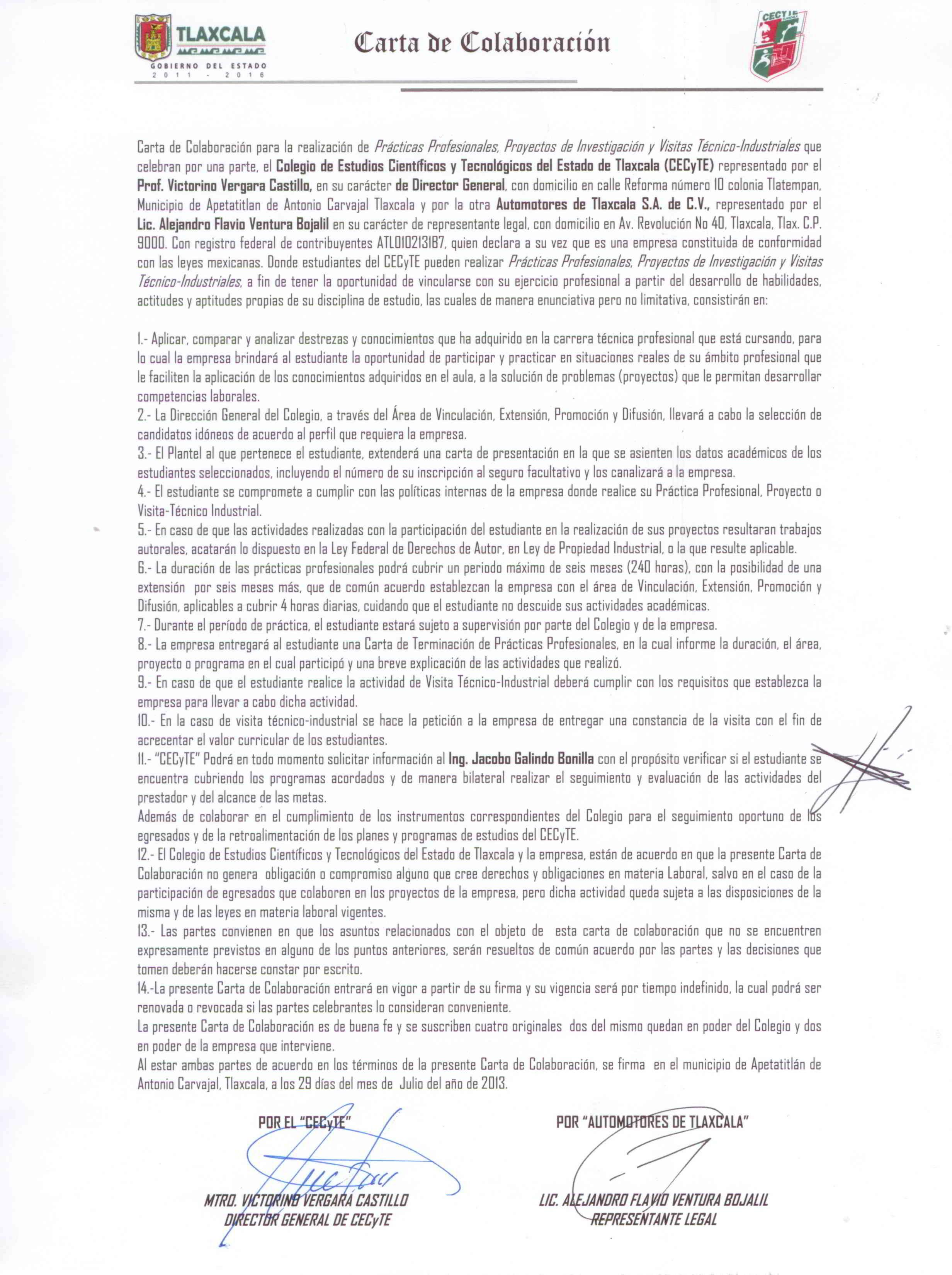 Sector Productivo – CECyTE Tlaxcala
